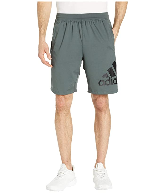 adidas 4KRFT 9 Badge of Sport Shorts (Legend Ivy) Men