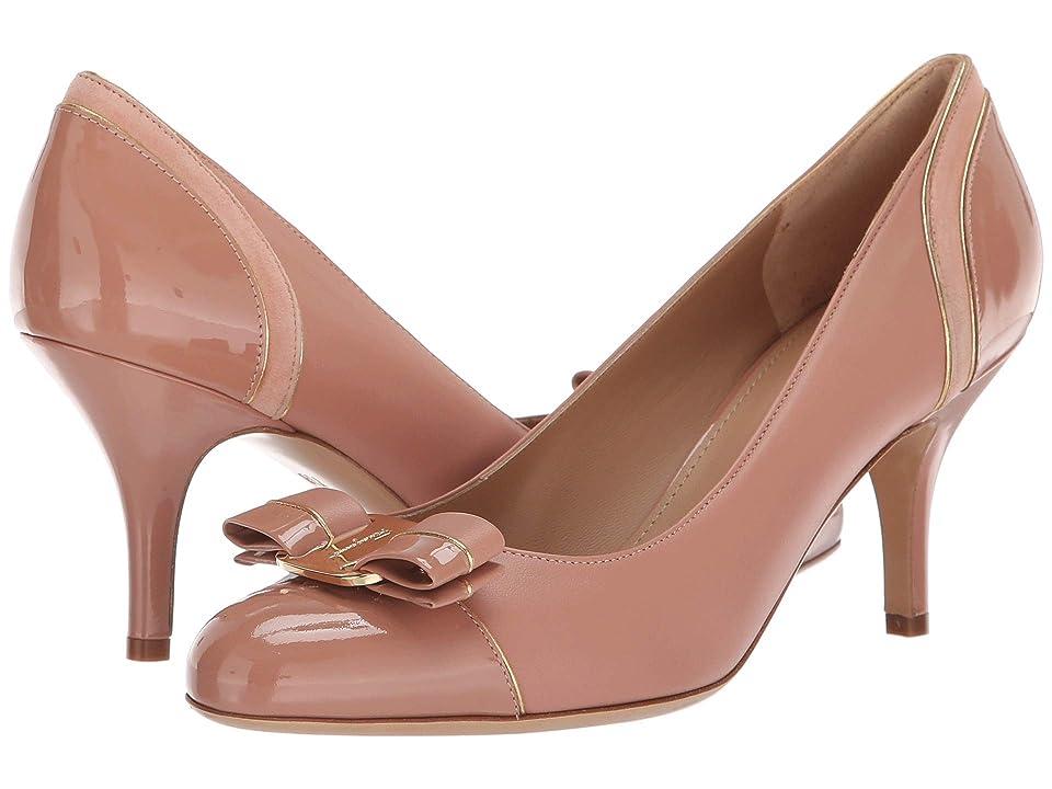26a438a6ad Salvatore Ferragamo Carla Lux (New Blush Patent) Women's 1-2 inch heel Shoes