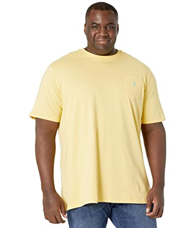 Polo Ralph Lauren Big & Tall Big Tall 26/1 Jersey Short Sleeve Classic Fit T-Shirt (Empire Yellow/C6103) Men