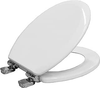 Bemis Chicago STAY TIGHT Toilet Seat Slow Close Take Off - White