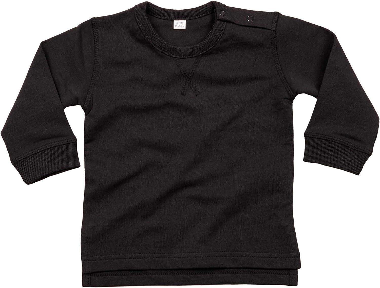 Personalised Custom Your Text Design Logo Babybugz Baby Sweatshirt BZ031