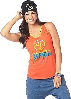comprar comparacion Zumba Dance Atlético Estampado Fitness Camiseta Mujer Sueltas de Entrenamiento Top Deportivo