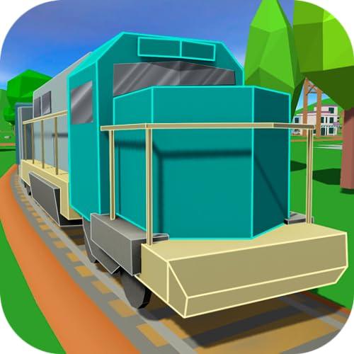 Pixel Train Driving Simulator