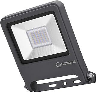 LEDVANCE Naświetlacz LED: for ściana, ENDURA® FLOOD Ciepły biały / 30 W, 220…240 V, kąt rozsyłu światła: 120°, Ciepły biał...