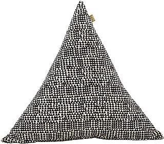 Raine & Humble Cairo Triangle Cushion, Cotton, Multi-Colour, 45 x 45 x 15 cm