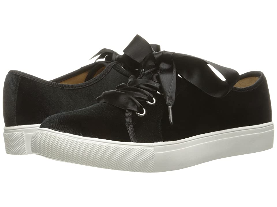 Dirty Laundry Fillmore Velvet Sneaker (Black Rich Velvet) Women