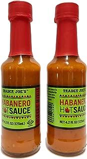 Trader Joes Habanero Hot Sauce - Two Bottles