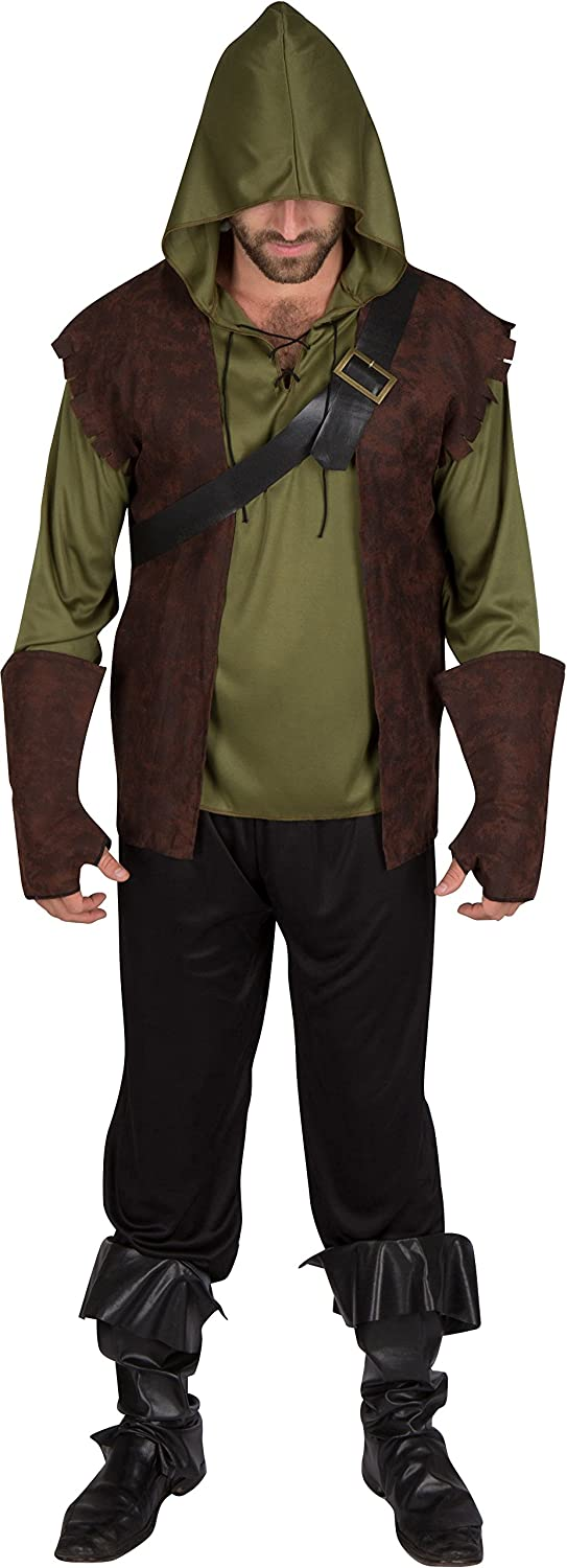 Capital Costumes Adult Men's Robin Free Shipping New Costume Hood Oakland Mall Authentic