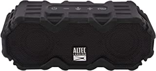 Altec Lansing IMW479 Mini LifeJacket Jolt Heavy Duty Rugged and Waterproof Ultra Portable Bluetooth Speaker with up to 16 Hours of Battery Life, 100FT Wireless Range and Voice Assistant (Black)