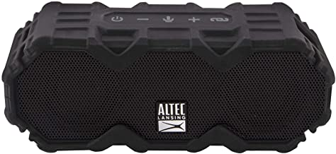 $69 » Altec Lansing IMW479 Mini LifeJacket Jolt Heavy Duty Rugged and Waterproof Ultra Portable Bluetooth Speaker with up to 16 ...