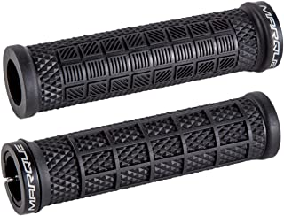 MARQUE Grapple Mountain Bike Handlebar Grips – Single Lock-On Ring MTB and BMX Bicycle Handle Bar with Non-Slip Grip