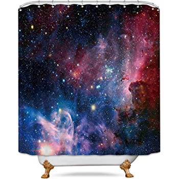 Ironman Space Galaxy Custom Shower Curtain Size 60x72 and 66x72