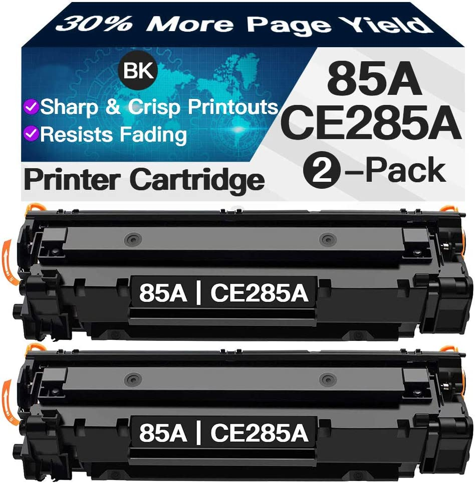 Iveyink Compatible Toner Cartridges Replacement for HP 85A CE285A (Black, 2-Pack)