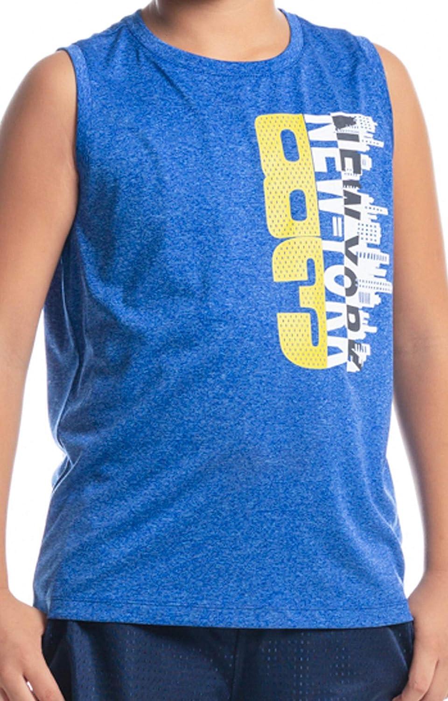 M.D.K Boys Cool Graphic Print Sleeveless Muscle Tank Top Active Shirt