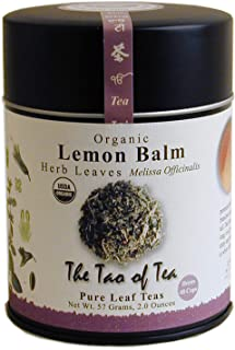 The Tao of Tea, Lemon Balm Herbal Tea, Loose Leaf, 2.0 Ounce Tin