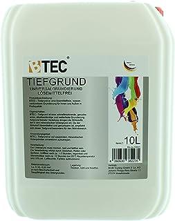 Tiefgrund LF Haftgrund Universalgrundierung 1173 für Innen- und Außen gebrauchsfertig für 100m² 10 Liter von BTEC