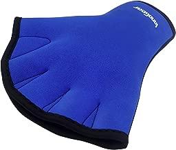InnoGear Swim Gloves Aquatic Fitness Water Resistance Training Aqua Fit Webbed Gloves, Pack of 2