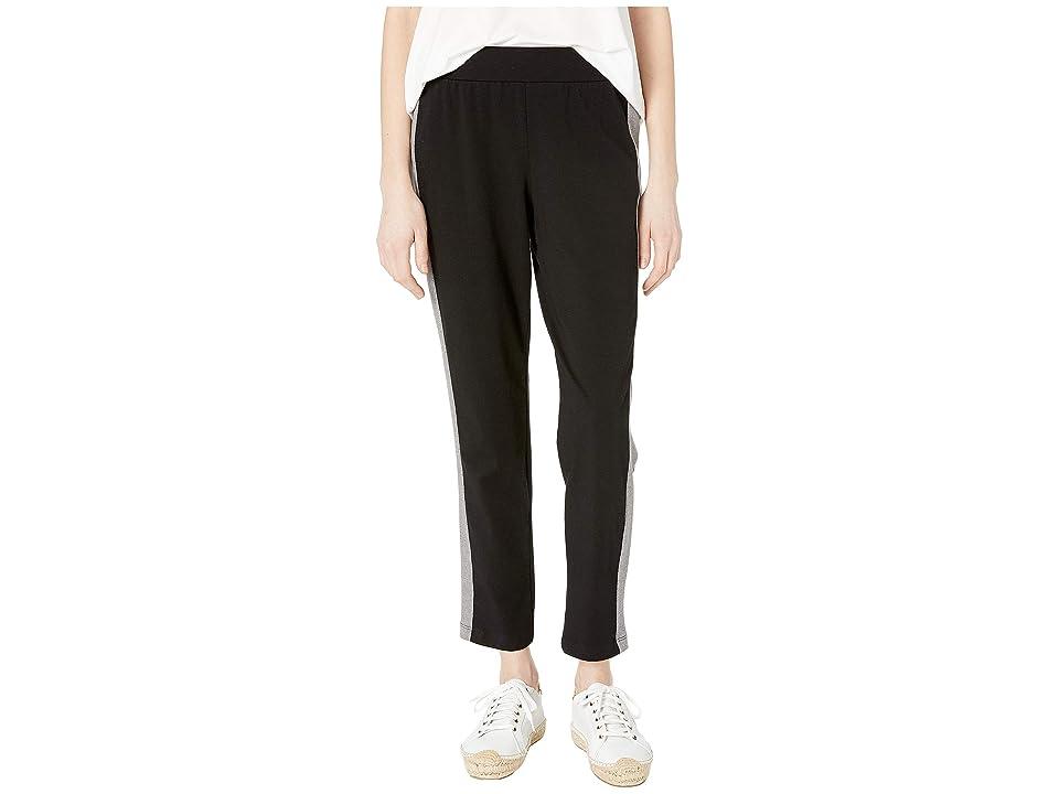 Eileen Fisher Slim Pants (Black) Women