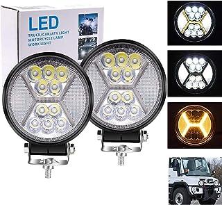 "Biqing 117W Reflektor Roboczy LED Wpisz H,4.5"" Listwa świetlna LED do Pracy Dodatkowy Reflektor 12V 24V Reflektor Offroado..."