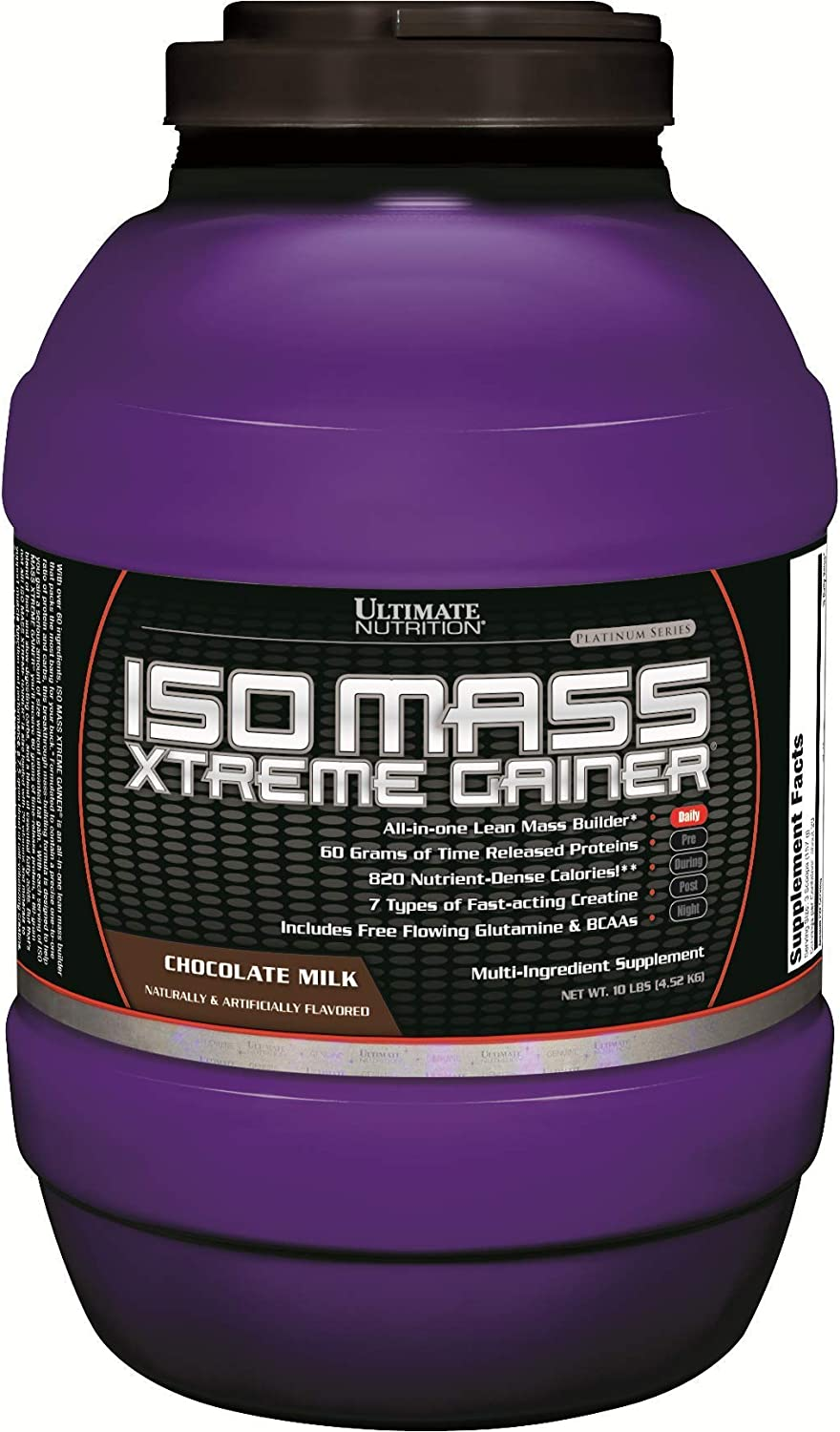 Ultimate Nutrition ISO 40% OFF Cheap Sale Mass Super sale period limited Xtreme Weight Protein Isolate Gainer