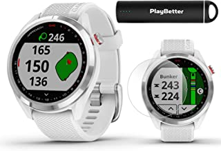 $309 » Garmin Approach S42 GPS Golf Watch Bundle | Includes PlayBetter Portable Charger & HD Screen Protectors | Color Screen, 4...