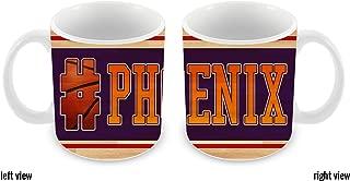 BleuReign(TM) Basketball Team Hashtag Phoenix #Phoenix 11oz Ceramic Coffee Mug