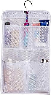 MISSLO Shower Caddy Organizer 5 Pockets Roll up Hanging Bathroom Accessories Storage for Camper, RV, Gym, Cruise, Cabin, C...