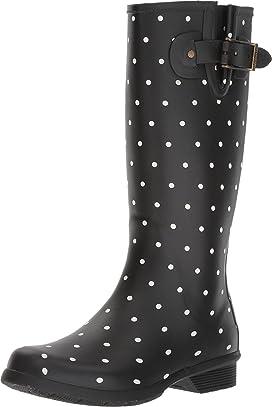Dot Blanc Tall Boot