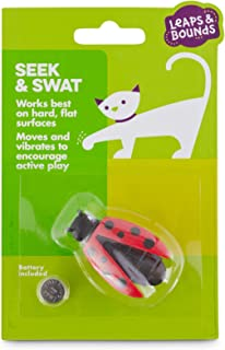Leaps & Bounds Seek & Swat Electronic Lady Bug Cat Toy