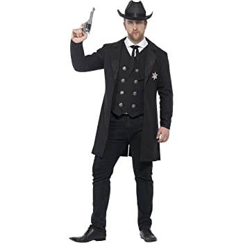 SmiffyS 26530L Disfraz De Sheriff Con Curvas Con Chaqueta Chaleco ...