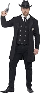 Smiffys Men's Plus Size Sheriff Costume