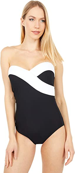 Prime Surplice Bandeau One-Piece - Essentials