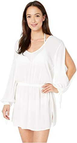 Solaris Split Sleeve Dress Cover-Up
