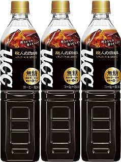 UCC 職人の珈琲 ボトルコーヒー 無糖 ペットボトル 930ml×3本