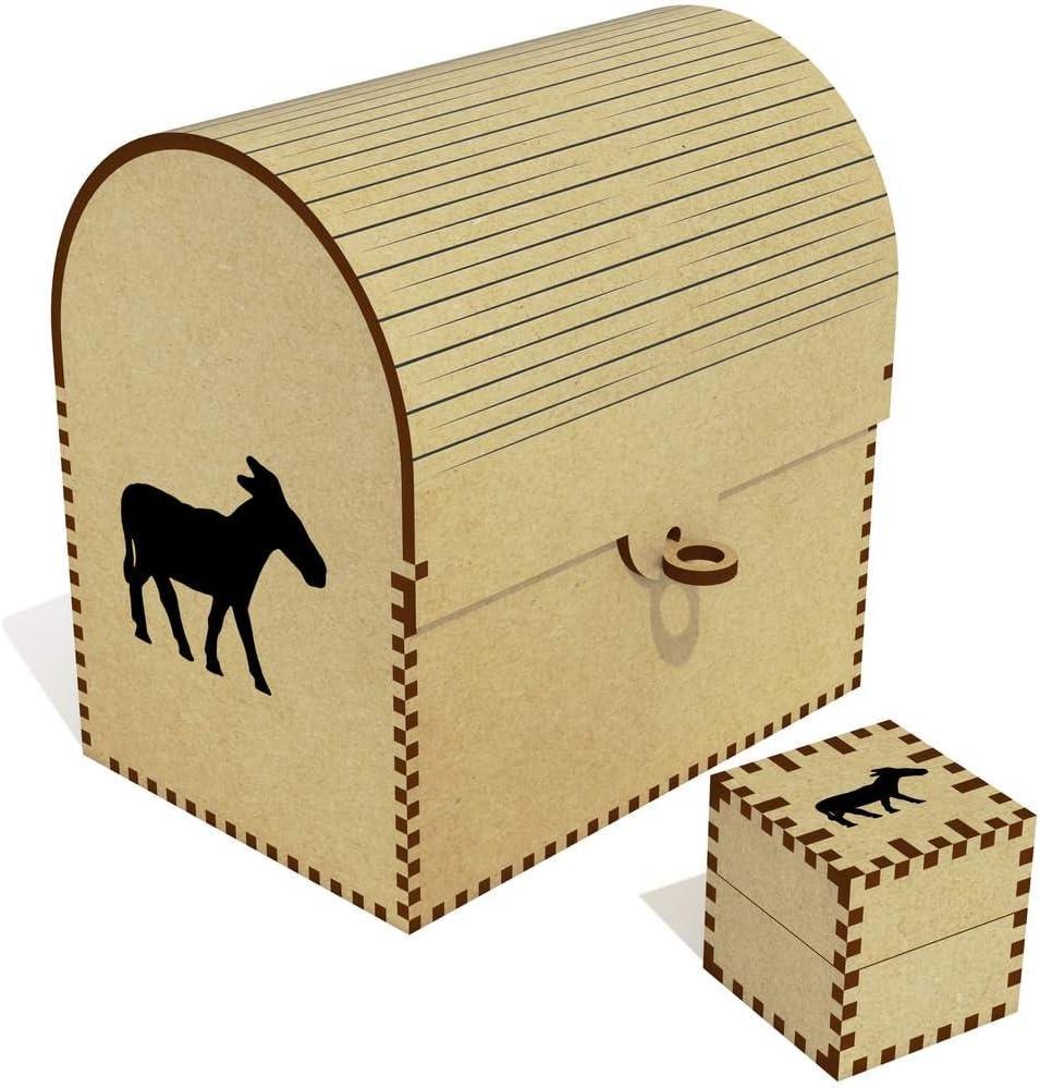 Azeeda 'Standing Donkey' Treasure Chest TC0003070 Box Jewellery 2021 model Reservation