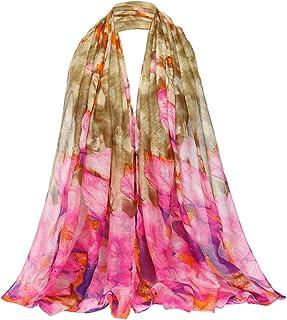 Kingree Women's Stole, Autumn Winter Scarf, Warm Muffler Neckerchief for Women and Girls
