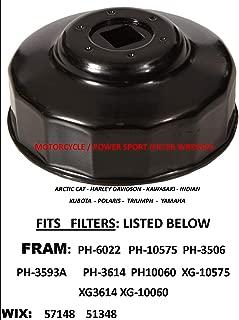 APSG Oil Filter Wrench Motorcycle Fit: Filters > >. FRAM PH6022 PH10575 PH3506 PH3539A PH3614 PH10060 XG10575 XG3614 XG10060 WIX 57148 51348