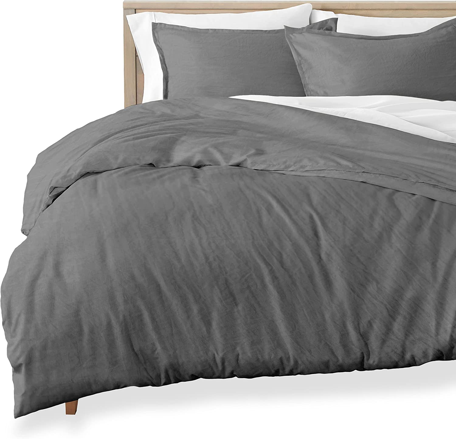 Bare Home Sandwashed Duvet Cover Ranking TOP18 Oversized King Our shop OFFers the best service 1 Size - Premium