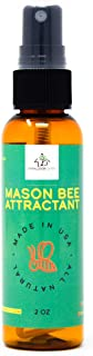 Donaldson Farms Mason Bee House Attractant - Mason Bee House Lure - All Natural Ingredients. Safe for The Mason Bees.