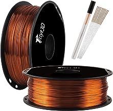 Silk Shiny Copper PLA 3D Printer Filament 1.75mm 1KG 2.2LBS Spool Widely Compatible 3D Printing Metal Copper Feeling TTYT3D