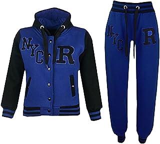 97d227f99ec08 A2Z 4 Kids® Enfants Filles Garçons Baseball Survêtement NYC Fox Veste    Pantalons des Sports