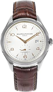 Baume & Mercier Clifton Automatic-self-Wind Male Watch MOA10054 (Certified Pre-Owned)