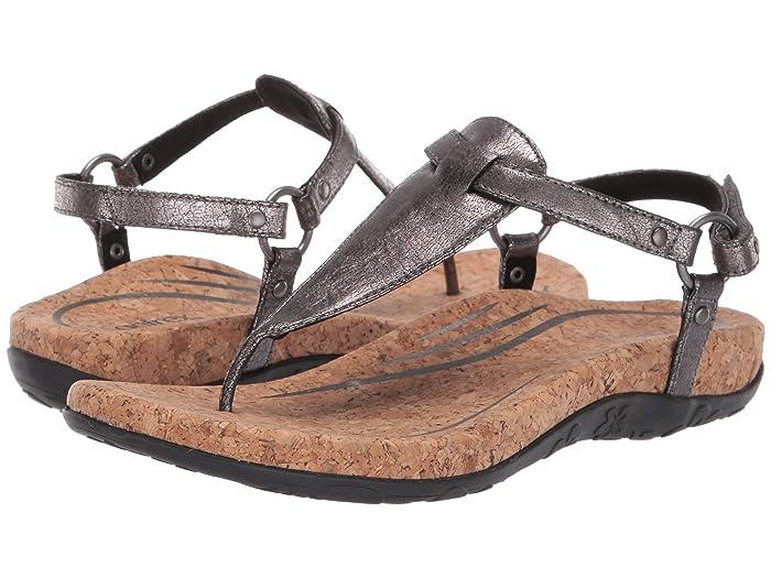Aetrex  Emilia (Pewter) Womens Sandals