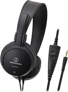 audio-technica ヘッドホン テレビ用 ボリュームコントローラー付 ブラック ATH-350TV