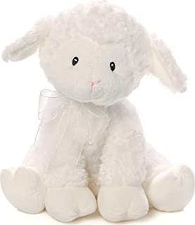 Baby GUND Lena Lamb Brahms' Lullaby Musical Stuffed Animal Plush, White, 10""