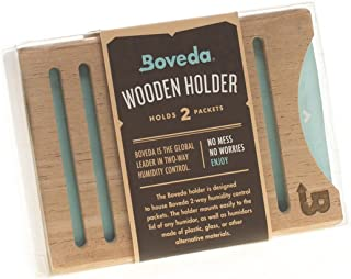 Boveda 75% RH 8 Gram, Patented 2-Way Humidity Control, (1) 10-Pack, Unwrapped, Resealable Bag; Up to 10 Cigars; Perfect for Harsh Conditions, Desert climates and Leaky humidors