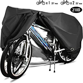 HCFGS Bike Cover, 210D Oxford Fabric Outdoor Waterproof...