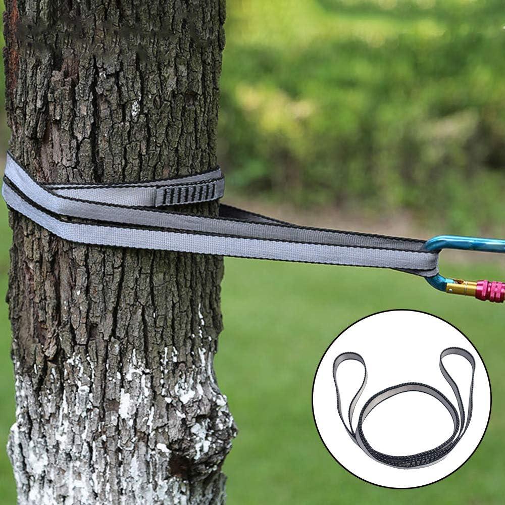 FOSER 18mm Nylon Climbing Sling Runner Emergency Equipment Downhill etc 23KN Nylon/Rope,Apply to Rock Climbing Hiking Mountaineering