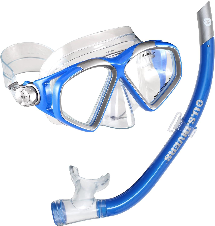 U.S. Divers Cozumel LX Swim Goggles with Airent Snorkel
