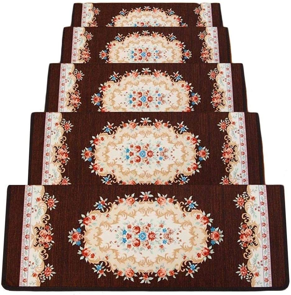 HLR-Treads Rectangle Stair Carpet Treads Mats Pads Staircas OFFicial [Alternative dealer] site Step